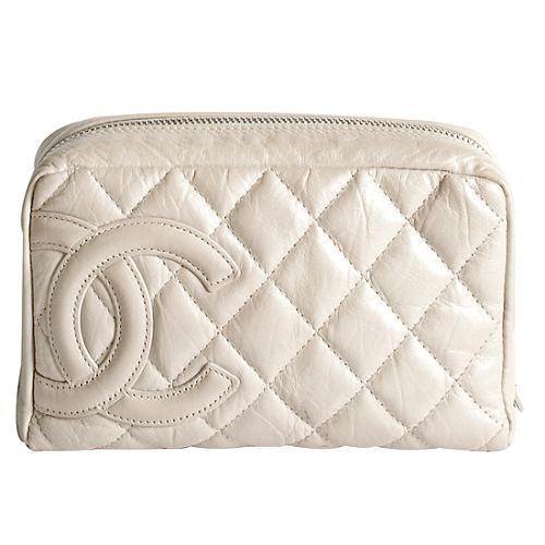 Chanel Ligne Cambon Cosmetic Case
