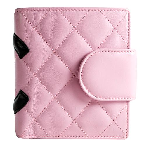 Chanel Ligne Cambon French Purse Wallet