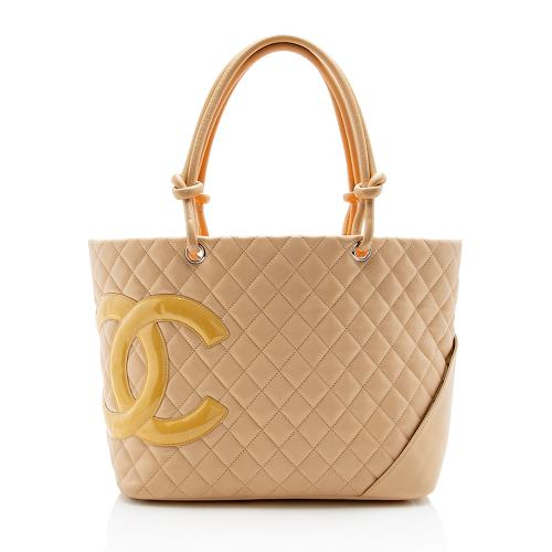 Chanel Ligne Cambon Large Shopping Tote