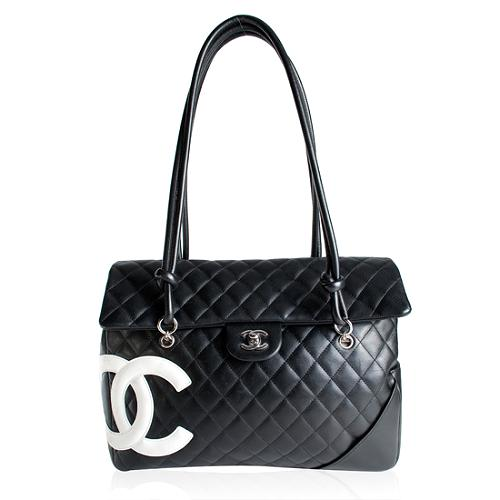 Chanel Ligne Cambon Limited Edition Large Flap Handbag