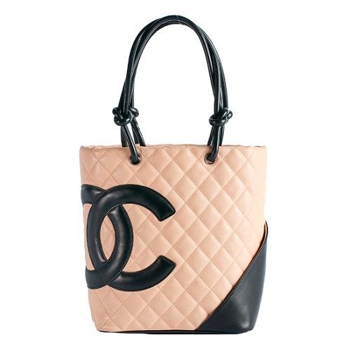 Chanel Ligne Cambon Medium Bucket Tote