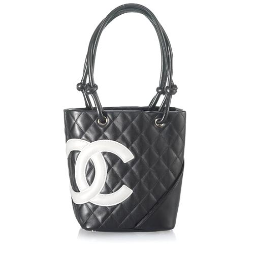 Chanel Ligne Cambon Petite Bucket Handbag