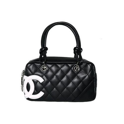 Chanel Ligne Cambon Satchel Handbag