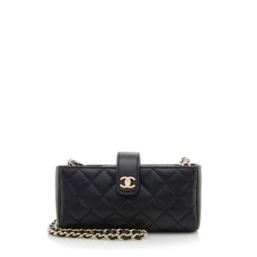 Chanel Limited Edition Lambskin Valentines 2014 Mini Crossbody Bag