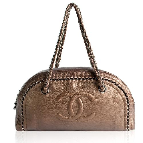 Chanel Luxe Ligne Medium Bowler Handbag