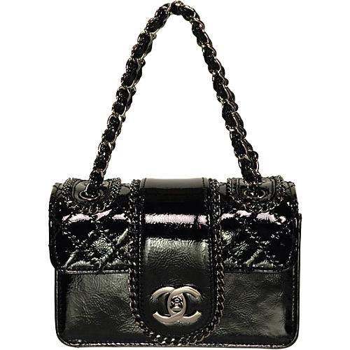 Chanel Madison Patent Evening Handbag