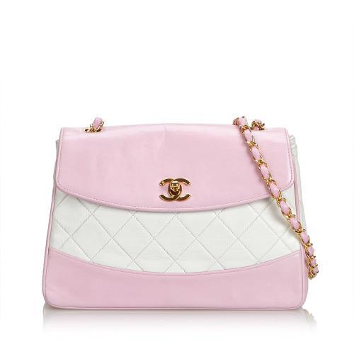 Chanel Matelasse Lambskin Chain Crossbody Bag