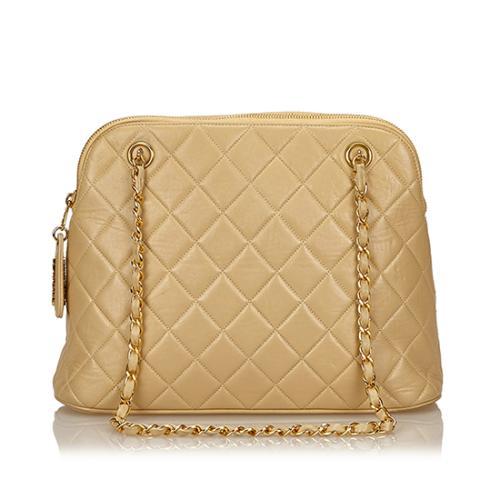 Chanel Vintage Quilted Lambskin Shoulder Bag