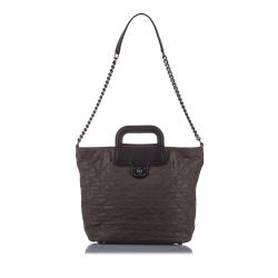 Chanel Matelasse Leather Satchel