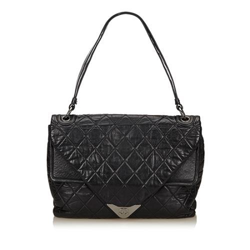Chanel Lambskin Envelope Shoulder Bag