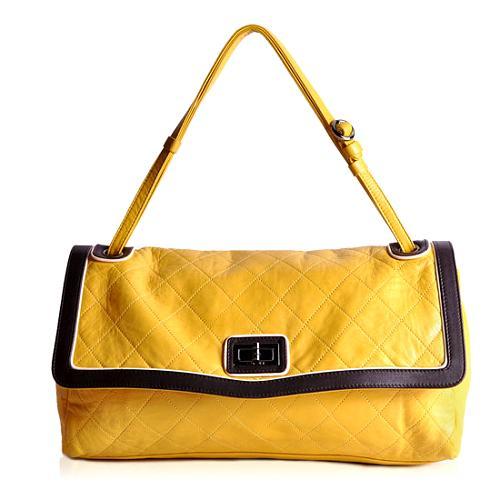 Chanel Maxi Mademoiselle Flap Shoulder Handbag