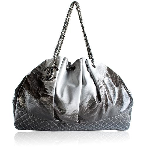 Chanel Melrose Patent Degrade Cabas Tote
