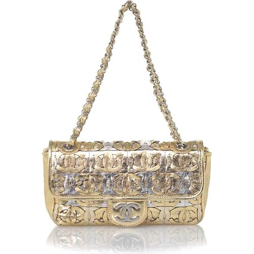 Chanel Metallic Evening Handbag