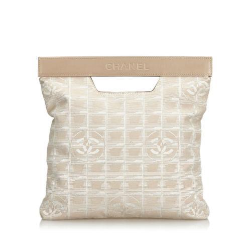 Chanel New Travel Line Nylon Satchel