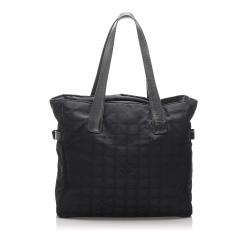 Chanel Canvas New Travel Line Tote