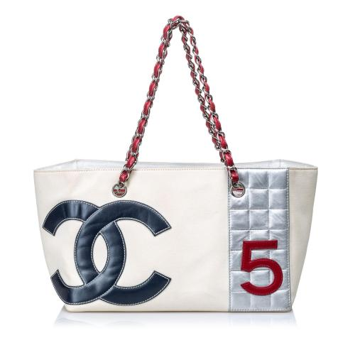 Chanel No. 5 Canvas Shopping Tote