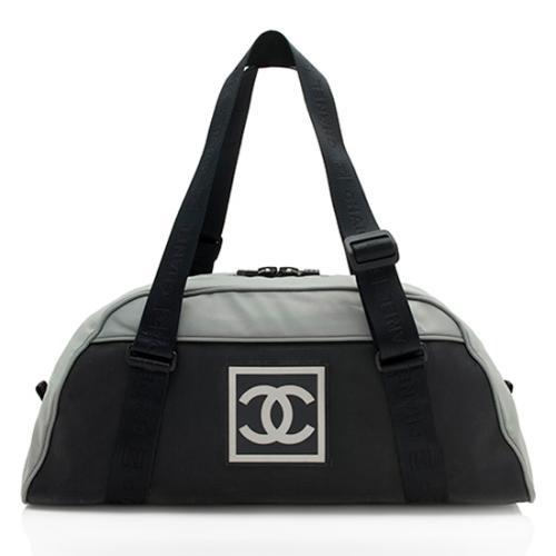 Chanel Nylon Sport Line Duffel Bag