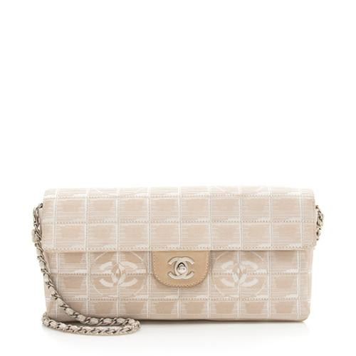 Chanel Nylon Travel Line Flap Shoulder Bag
