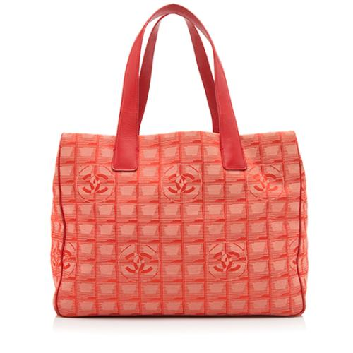 Chanel Nylon Travel Line Large Tote