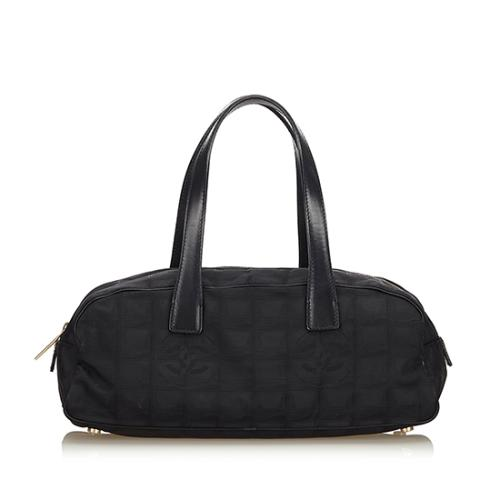 Chanel Nylon Travel Line Satchel