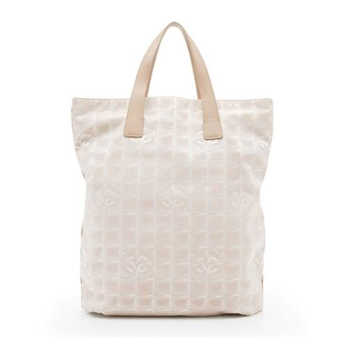 Chanel Nylon Travel Line Tall Tote