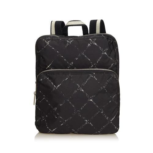 Chanel Old Travel Line Backpack