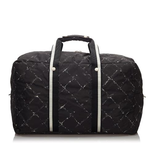 Chanel Old Travel Line Duffle Bag