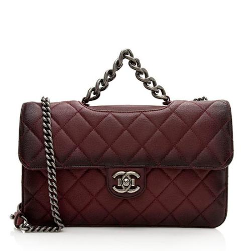 Chanel Ombre Goatskin Perfect Edge Large Shoulder Bag