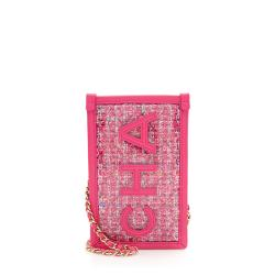 Chanel PVC Lambskin Clutch with Chain