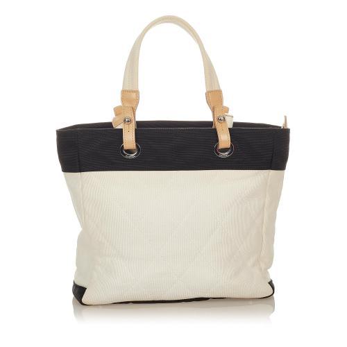 Chanel Paris Biarritz Canvas Tote Bag