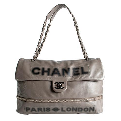 Chanel Paris London Calfskin Tote