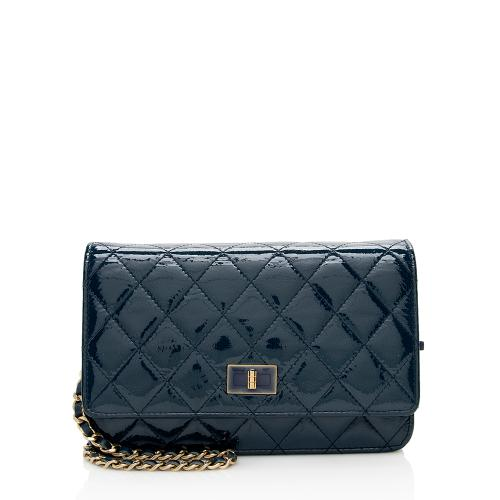 Chanel Patent Leather 2.55 Reissue Wallet on Chain Bag