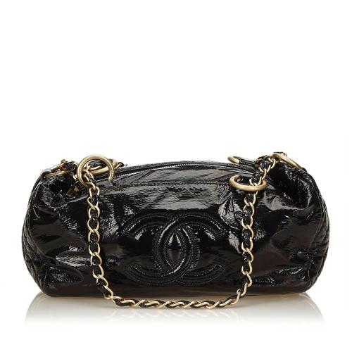 Chanel Patent Leather Satchel