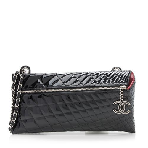 Chanel Patent Leather Kaleidoscope Clutch