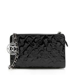Chanel Patent Leather Lucky Symbols Pochette