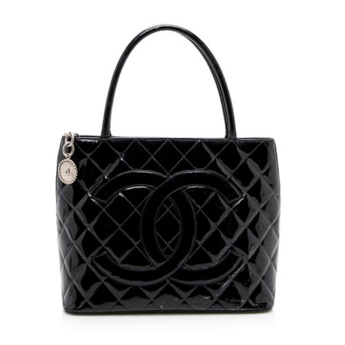 Chanel Patent Leather Medallion Tote - FINAL SALE