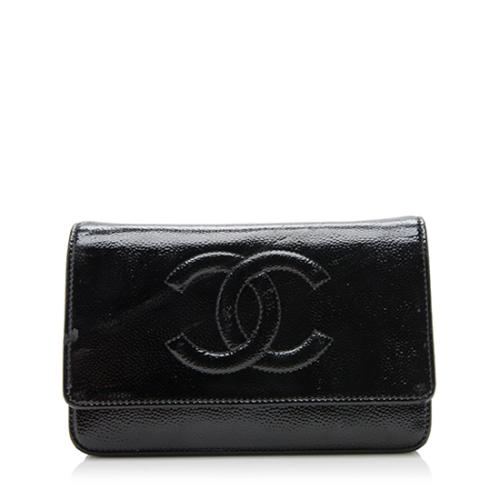 Chanel Patent Leather Timeless CC Wallet Clutch - FINAL SALE