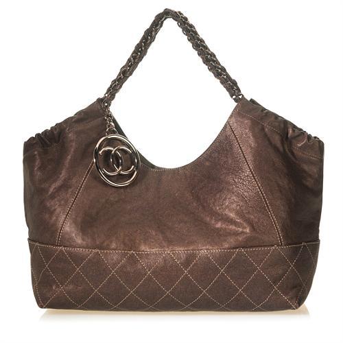 Chanel Petit Cocos Cabas Shopper Tote