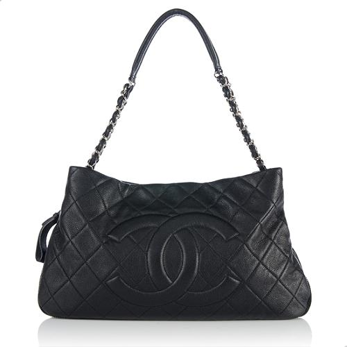 Chanel-Quilted-Caviar-Leather-Expandable-Ligne-Shoulder -Bag 62088 front large 1.jpg 27b94f4c928aa