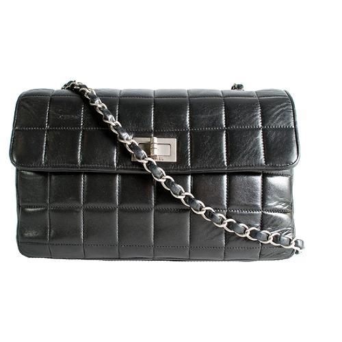 Chanel Quilted Flap Shoulder Handbag