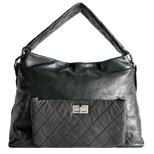 Chanel Quilted Lambskin 8 Knots Shoulder Handbag