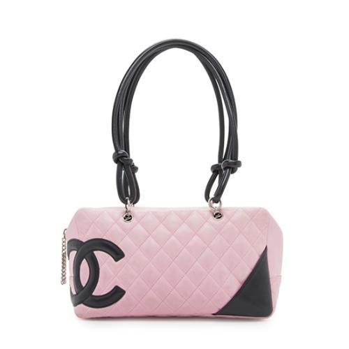 Chanel Quilted Lambskin Ligne Cambon Shopper Shoulder Bag - FINAL SALE