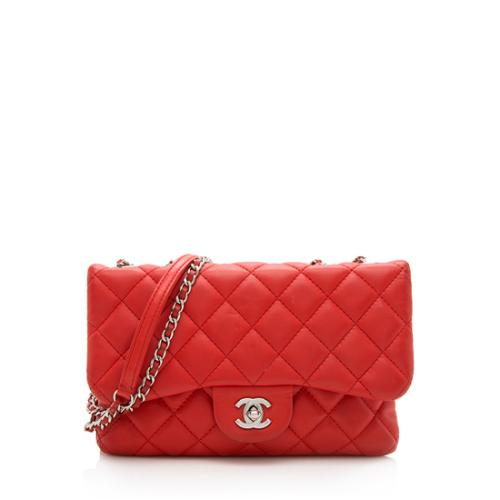 Chanel Quilted Lambskin Tender Touch Small Flap Bag