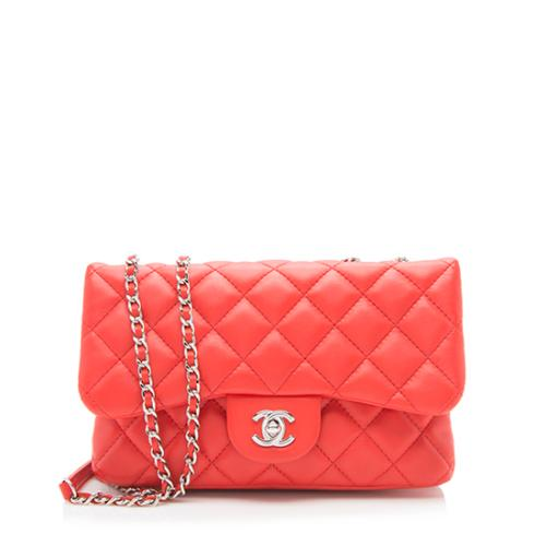 bd43b737fa60 Chanel Quilted Lambskin Tender Touch Small Flap Bag
