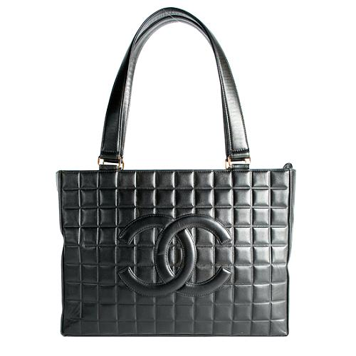 Chanel Quilted Lambskin Tote