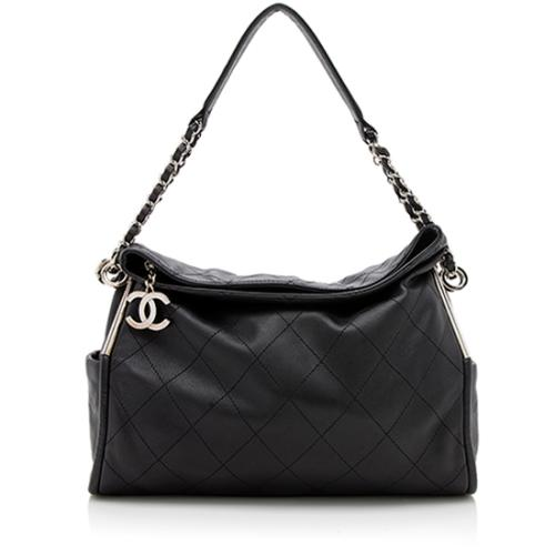 Chanel Quilted Lambskin Ultimate Soft Small Shoulder Bag