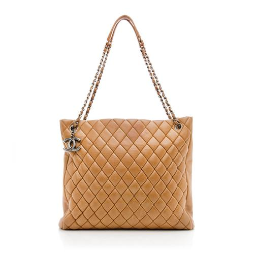 Chanel Quilted Large Tote