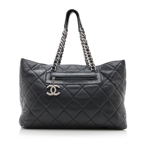 Chanel Quilted Leather Large Tote