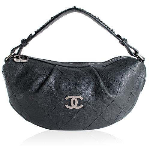 Chanel Quilted Outdoor Ligne Hobo