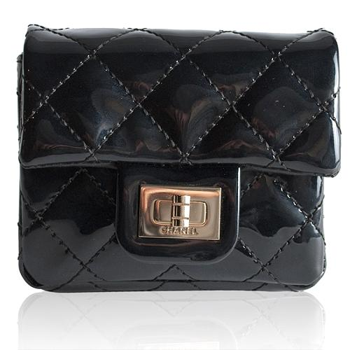 Chanel Quilted Patent Leather Wristlet/Anklet